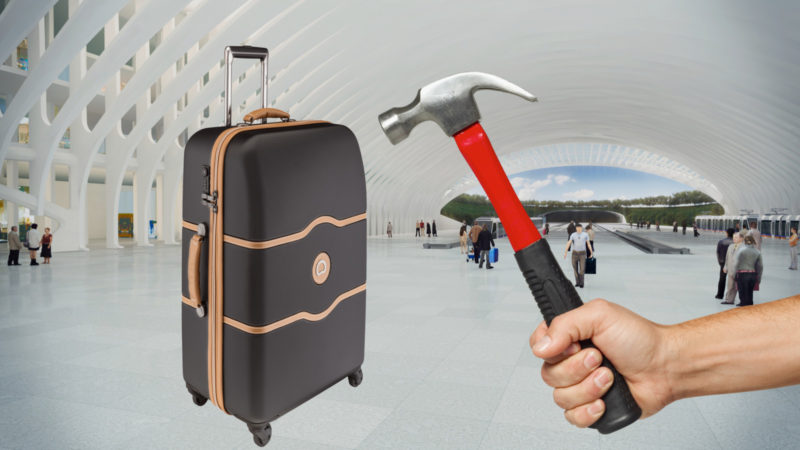 best hardside luggage material