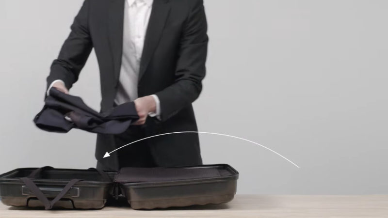 how to mail a suit