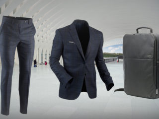how to pack a suit in a backpack