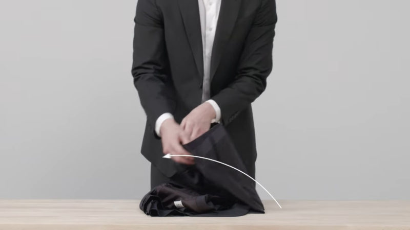 packing multiple suits