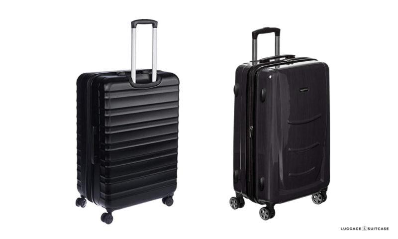 amazonbasics hardside luggage review