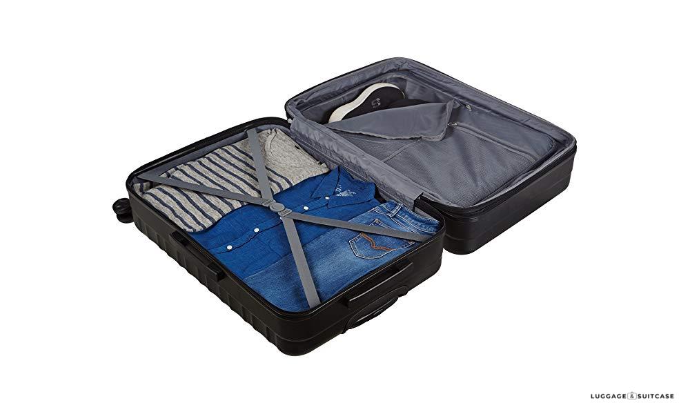c29b0ebcb2ff amazonbasics hardside spinner luggage - 28-inch