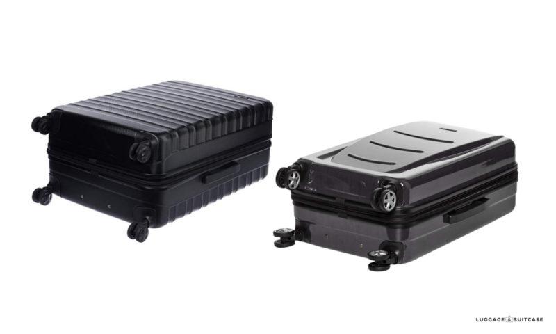 amazonbasics hardside spinner luggage review
