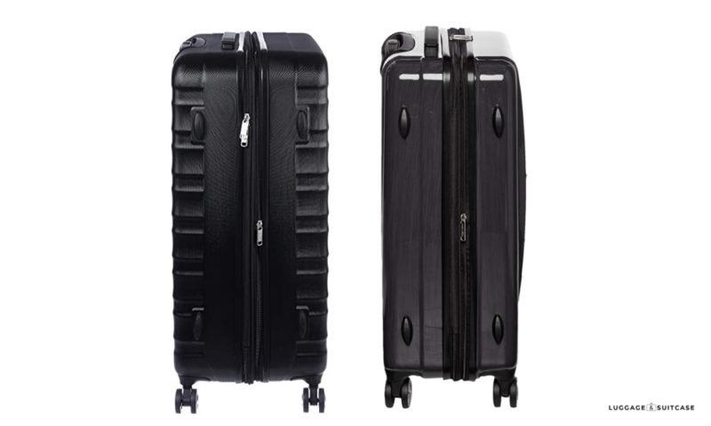 amazonbasics luggage set