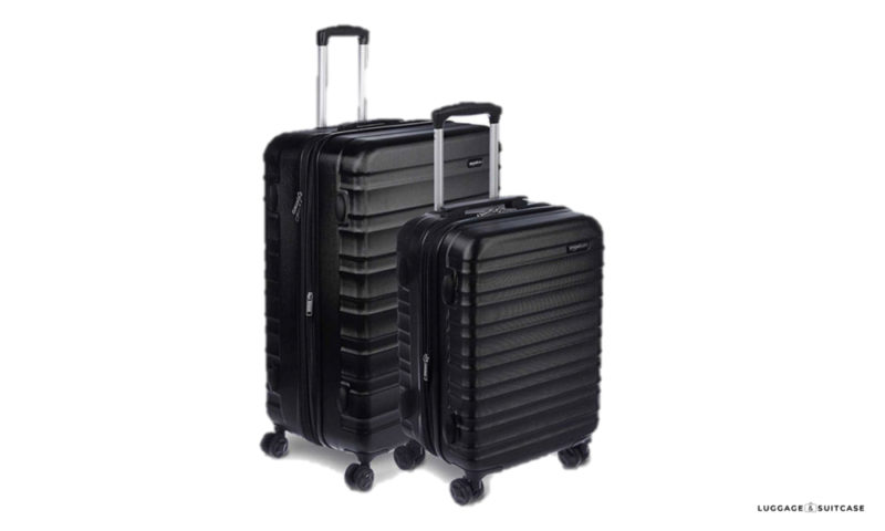 amazonbasics spinner luggage review