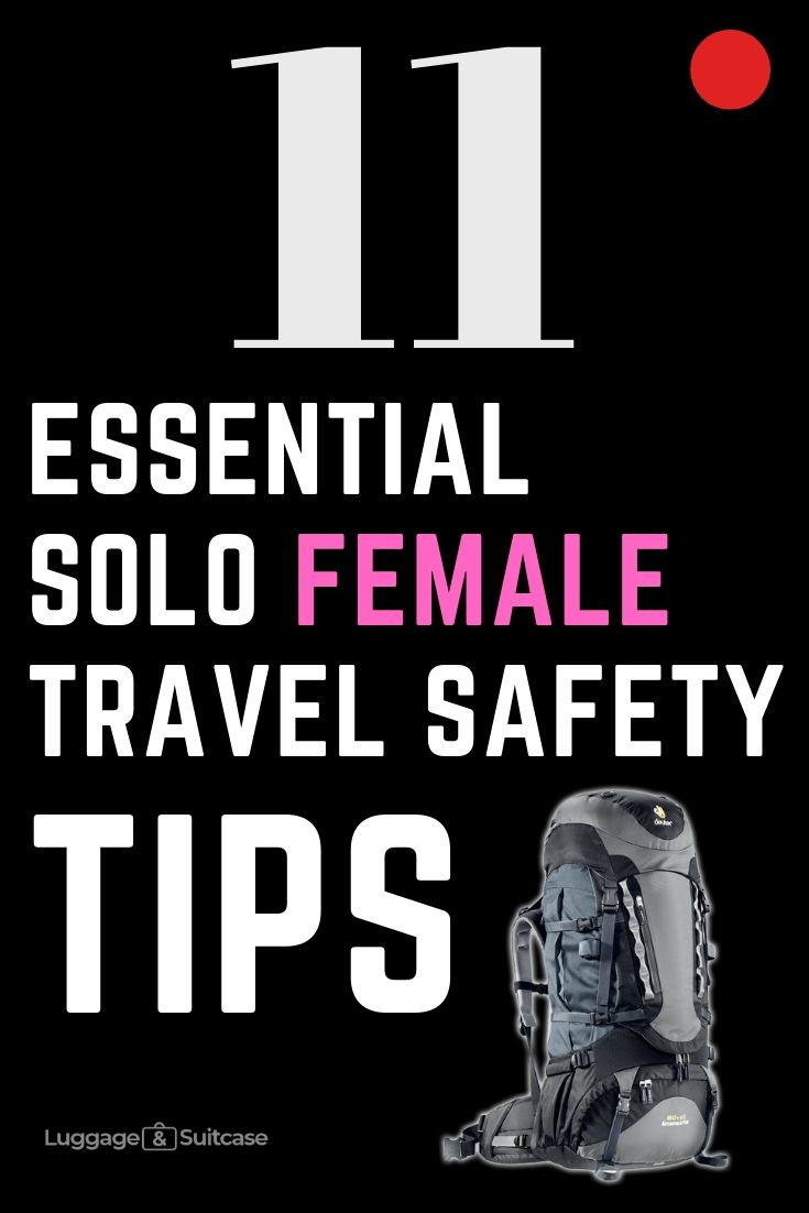 safe female travel