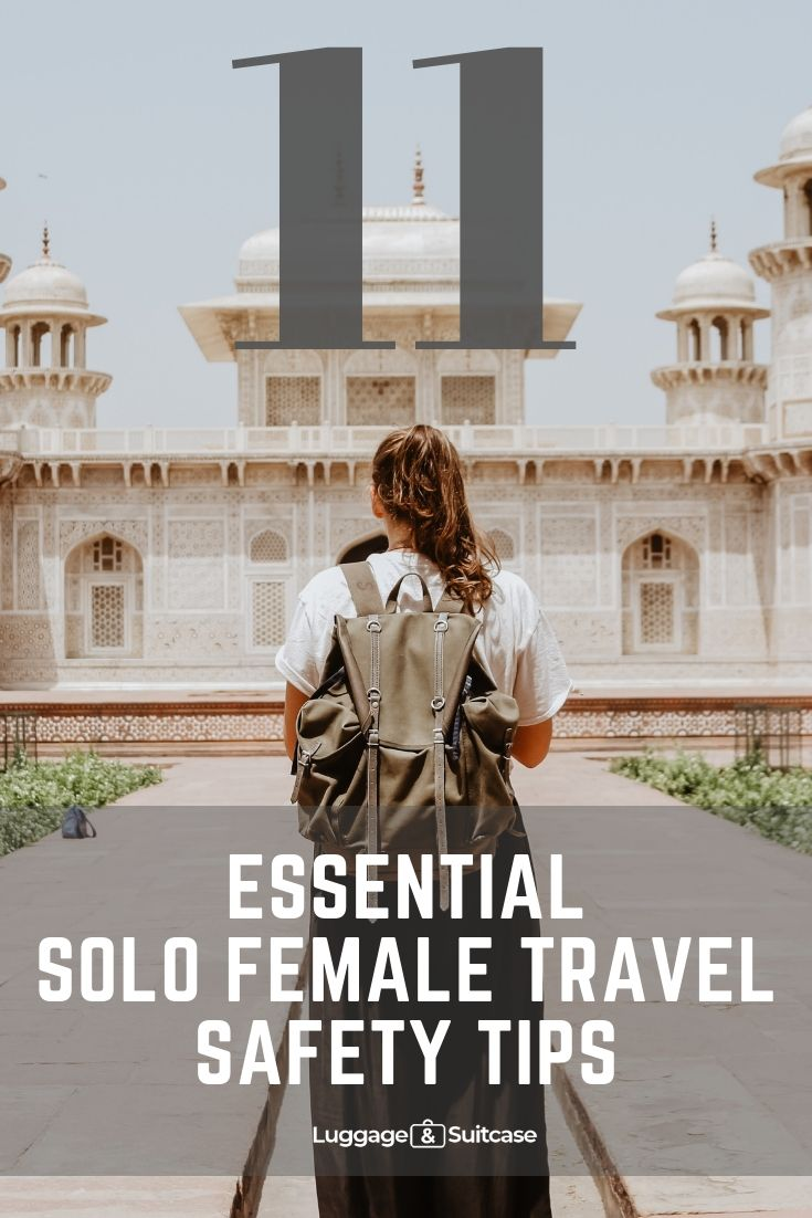 travelling on your own as a woman